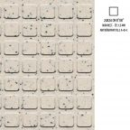 Vergnes carrelage - Novoceram_standard-antiderants-050-pastilles-carrees-blanc-noir