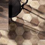 Vergnes carrelage - Marca Corona terra_mixtonewhite