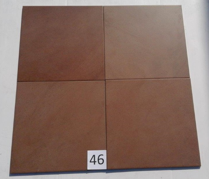 Azulev sabbia marron 33 33 for Destockage carrelage nord