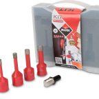 Vergnes Matériaux - rubi-kit-trepans-mini-drygres