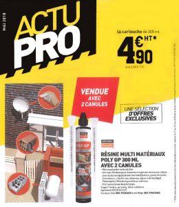 actupro Tout faire matériaux - mai 2018